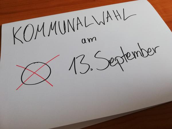 Kommunalwahl 13.September